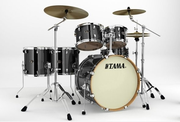 Tama VD62RS Silverstar Brushed Charcoal Black