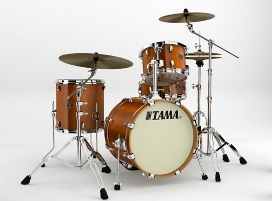 Tama VP48S Silverstar Custom Amber Brown Birch