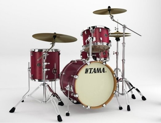 Tama VP48S Silverstar Custom Satin Red Mahagony