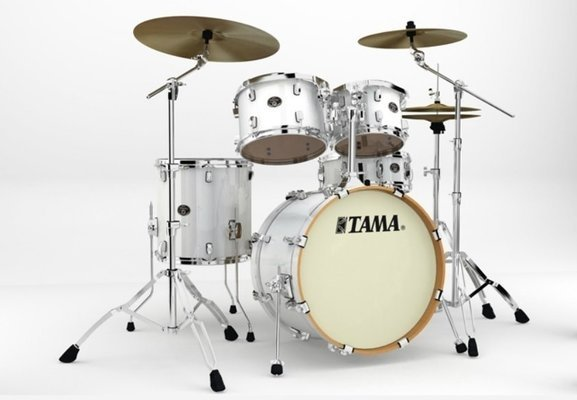 Tama VP50RS Silverstar Custom Piano White