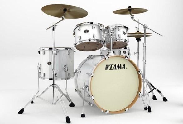 Tama VP52KRS Silverstar Custom Piano White