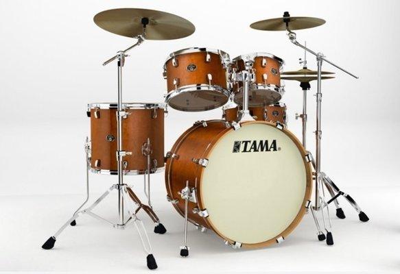 Tama VP52KRS Silverstar Custom Amber Brown Birch