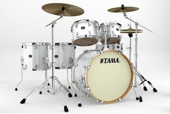 Tama VP62RS Silverstar Custom Piano White