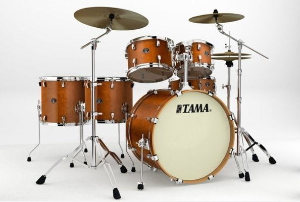 Tama VP62RS Silverstar Custom Amber Brown Birch