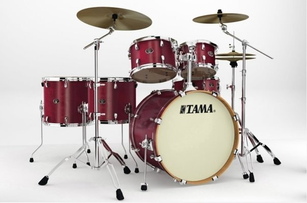 Tama VP62RS Silverstar Custom Satin Red Mahagony