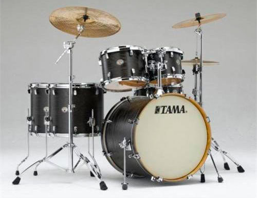 Tama VT62S Silverstar Custom Limit Satin Black Tamo Ash