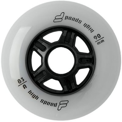 Fila Wheels 90mm/83A White