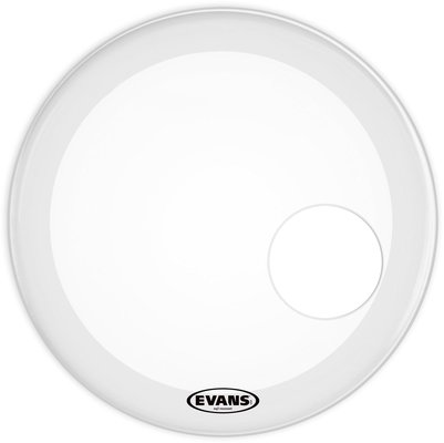 Evans BD20RSW EQ3 Reso Smooth White Bass Drum Head 20''