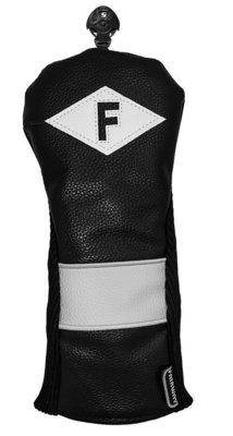 Longridge Classic Style Fairway Headcover Black