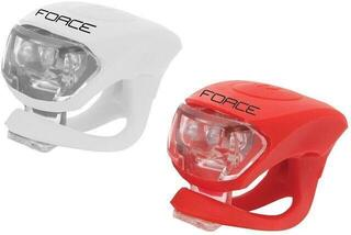 Force Light Set F DOUBLE Front - White/Rear - Red