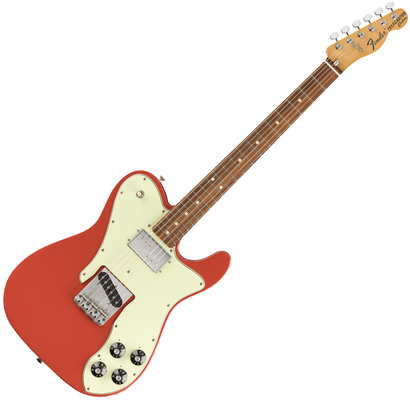 Fender Vintera 70s Telecaster Custom PF Fiesta Red