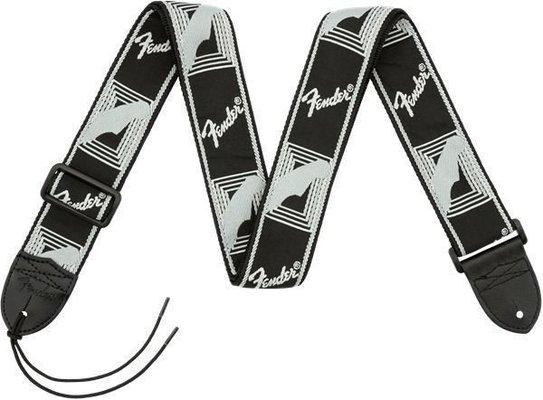 Fender 2'' Monogrammed Strap Black/Light Grey/Dark Grey