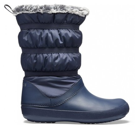 Crocs Women's Crocband Winter Boot Navy 38-39