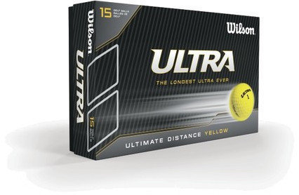 Wilson Staff Ultra LUE 15 Ball Yellow