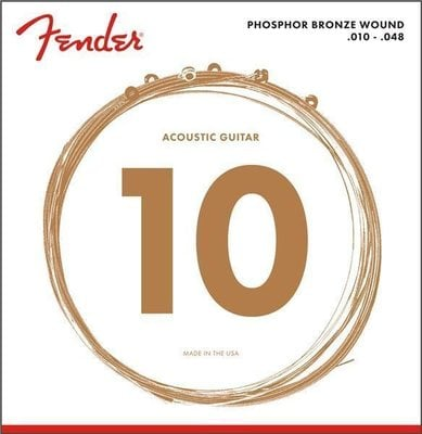 Fender 60 Phosphor Bronze Ball XL 10-48