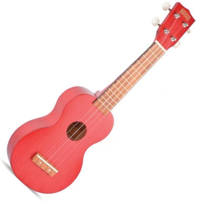 Mahalo MK1 Transparent Red