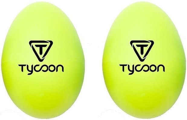 Tycoon Egg Shaker Yellow