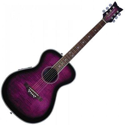 Daisy Rock Pixie Electro Acoustic Purple Burst