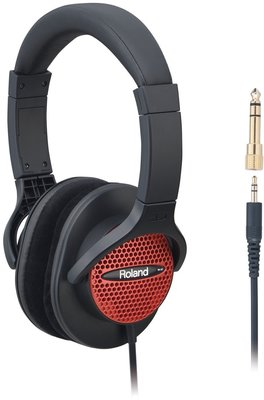 Roland RH-A7 Red Stereo Headphone