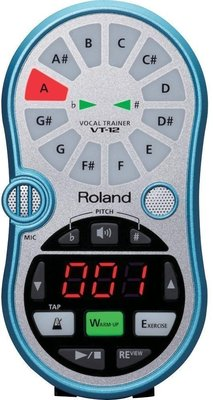 Roland VT 12 Aqua Blue Vocal Trainer