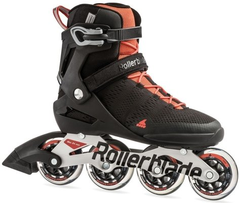 Rollerblade Spark 84 ST Black/Luminous Red 28,5/44