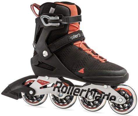 Rollerblade Spark 84 ST Black/Luminous Red 29,5/45