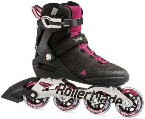 Rollerblade Spark 80 ST W Black/Dark Pink 24,5/38,5