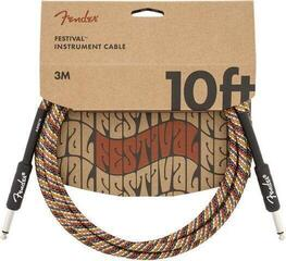 Fender Festival Series Instrument Cable Multi/Плетен-Директен - Директен