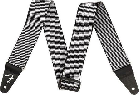 Fender Weighless Strap White Tweed