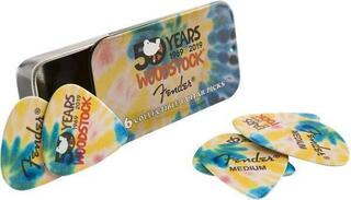 Fender Woodstock Pick Tin 6 Pack