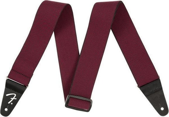 Fender Weighless Strap Red Tweed