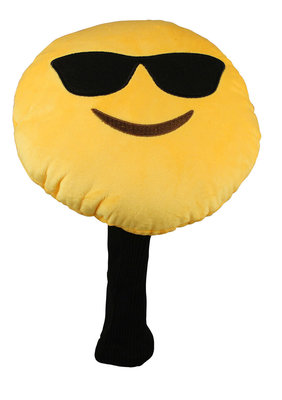 Masters Golf Winning Edge Novelty Headcover - Emoticon Shades