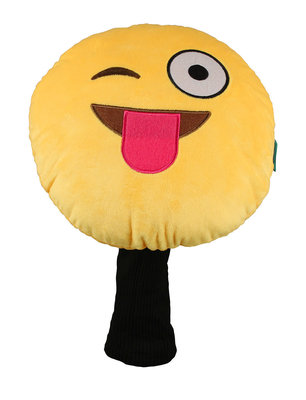 Masters Golf Winning Edge Novelty Headcover - Emoticon Winky