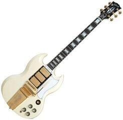 Gibson 1963 Les Paul SG Custom Reissue W/ Maestro Vibrola Classic White