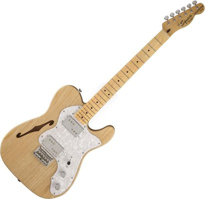 Fender Squier Vintage Modified 72 Tele Thinline Natural