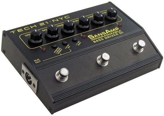 Tech 21 SansAmp Bass Driver D.I. Programmable