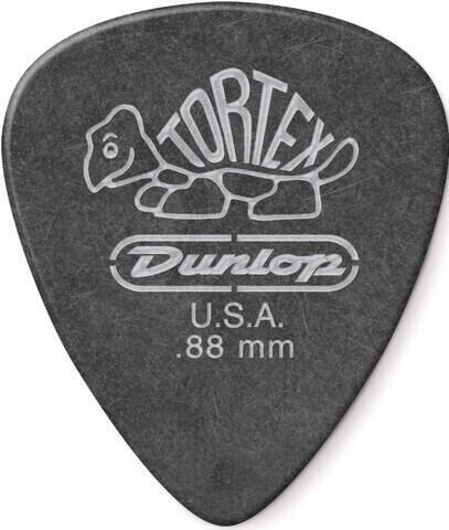 Dunlop 488R 0.88 Tortex Black Standard