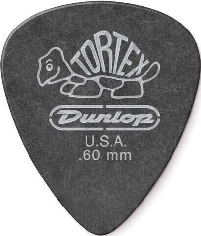 Dunlop 488R 0.60 Tortex Black Standard