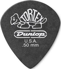 Dunlop 482R 0.50 Tortex Black Jazz Sharp