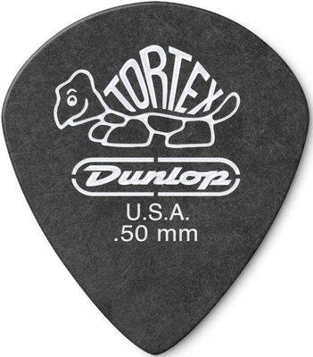 Dunlop 482R 0.50 Tortex Black Jazz Sharp