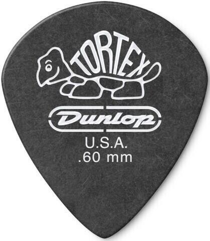 Dunlop 482R 0.60 Tortex Black Jazz Sharp