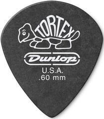 Dunlop 482R 0.60 Tortex Black Jazz Sharp