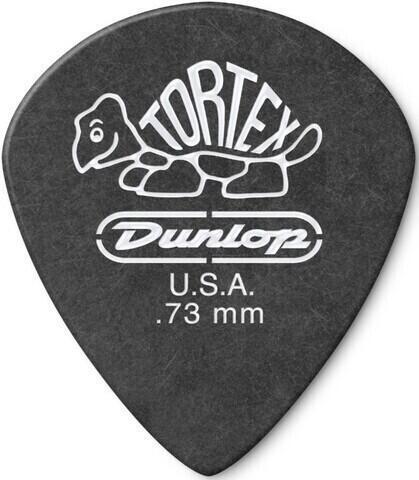 Dunlop 482R 0.73 Tortex Black Jazz Sharp