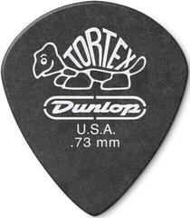 Dunlop 482R 0.73 Tortex Black Jazz Sharp