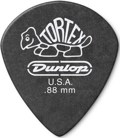 Dunlop 482R 0.88 Tortex Black Jazz Sharp
