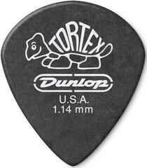 Dunlop 482R 1.14 Tortex Black Jazz Sharp