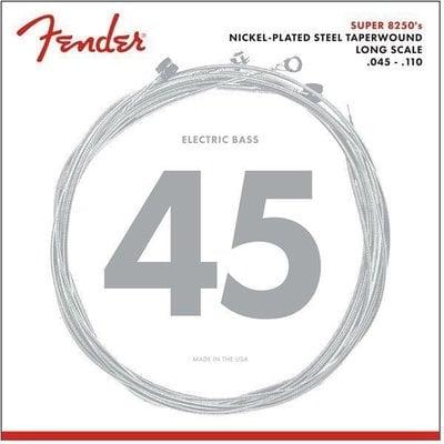 Fender 8250 Bass Nickel Plated Steel Strings Taperwound