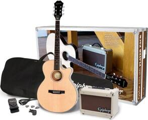 Epiphone PR-4E Acoustic/Electric Player Pack Natural