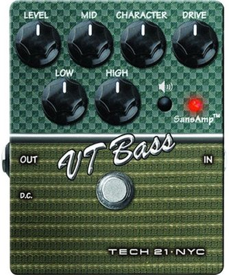 Tech 21 SansAmp Character VT Bass V2