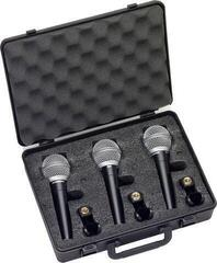 Samson R21 Dynamic Microphone 3-Pack
